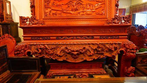 Bàn thờ tứ linh gỗ hương đá (2)