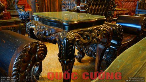bộ bàn ghế hoàng gia gỗ mun (12)