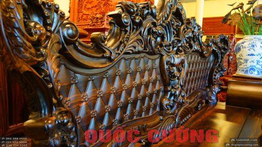 bộ bàn ghế hoàng gia gỗ mun (19)