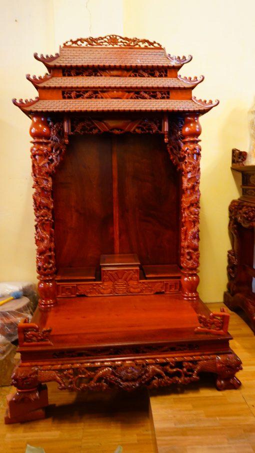 kệ thờ gỗ hương (10)