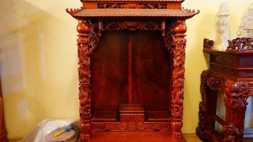 kệ thờ gỗ hương (3)