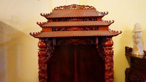 kệ thờ gỗ hương (4)