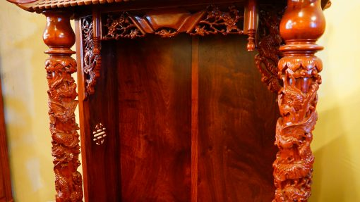 kệ thờ gỗ hương (7)