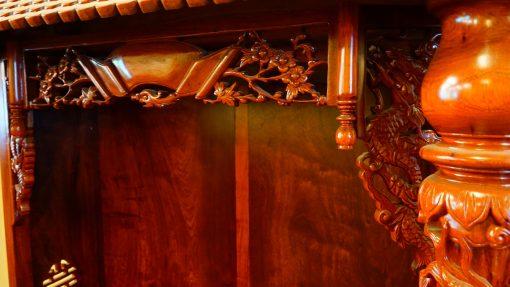 kệ thờ gỗ hương (8)