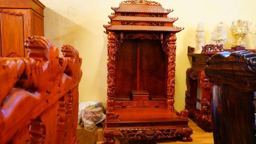 kệ thờ gỗ hương (9)