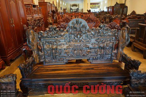 bộ bàn ghế tam đa gỗ mun (10)