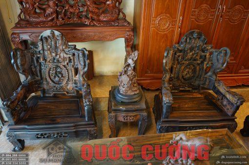 bộ bàn ghế tam đa gỗ mun (13)