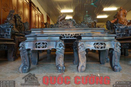 bộ bàn ghế tam đa gỗ mun (7)