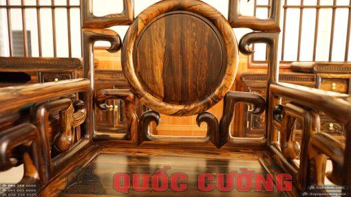 bàn ghế móc gỗ mun