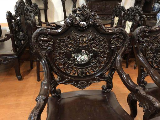 bàn ghế louis tựa thủng khảm ốc (10)