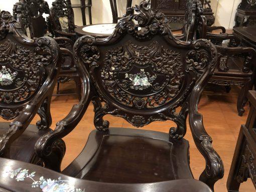 bàn ghế louis tựa thủng khảm ốc (12)