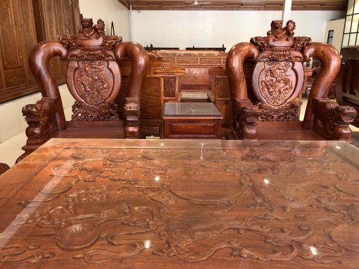 bàn ghế nghê đỉnh gỗ hương vân (5)