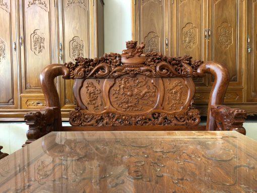 bàn ghế nghê đỉnh gỗ hương vân (8)