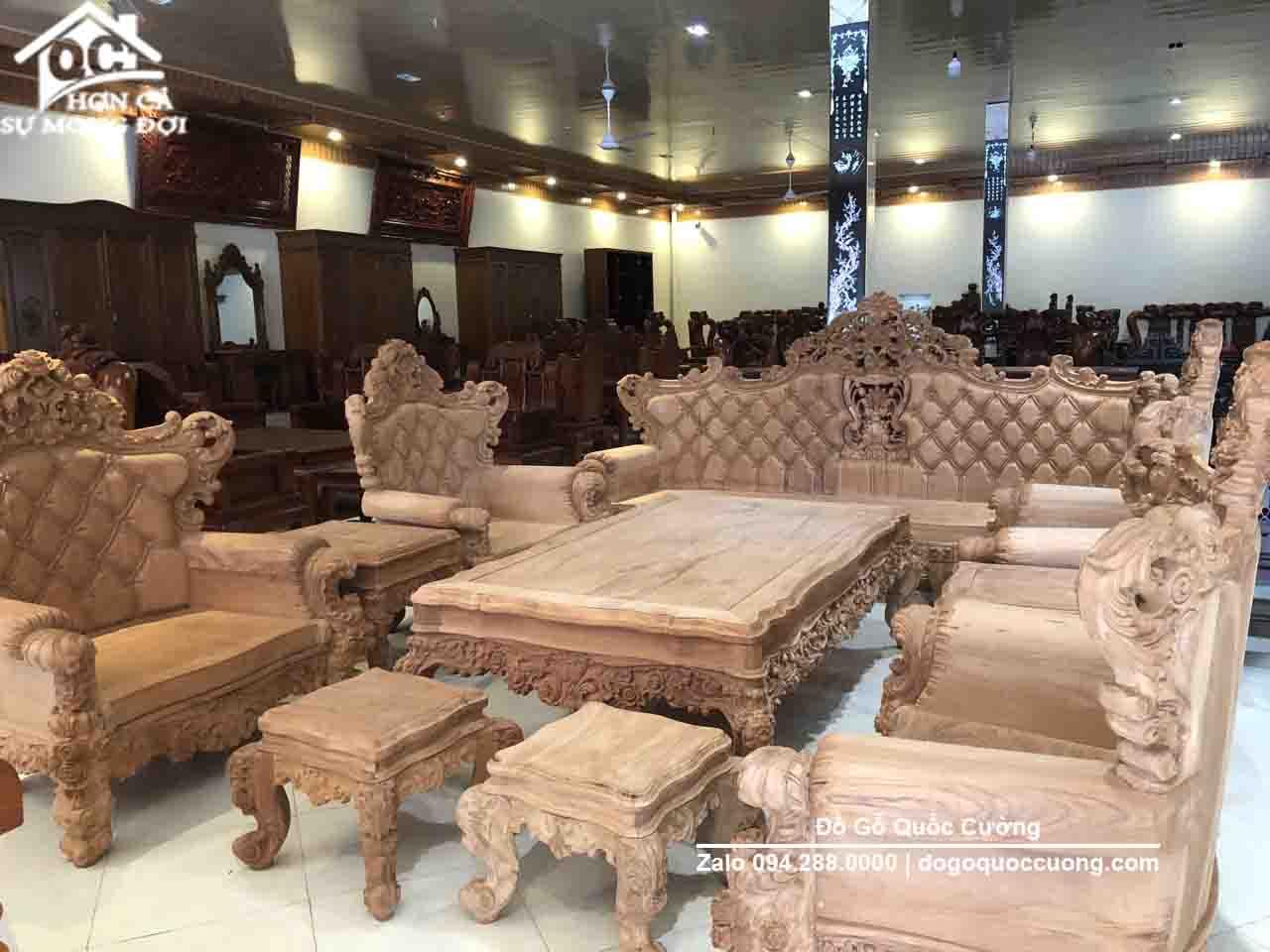 bộ ghế hoàng gia