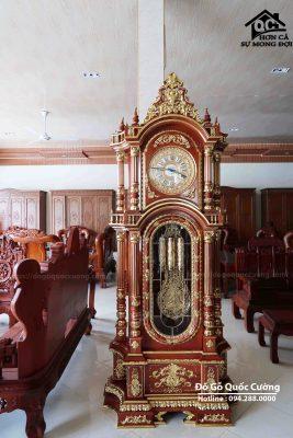 đồng hồ cây gỗ