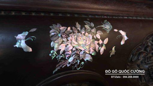 mẫu sập gỗ đẹp ba bông