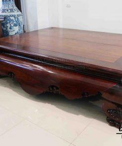 Sập gỗ gụ trơn