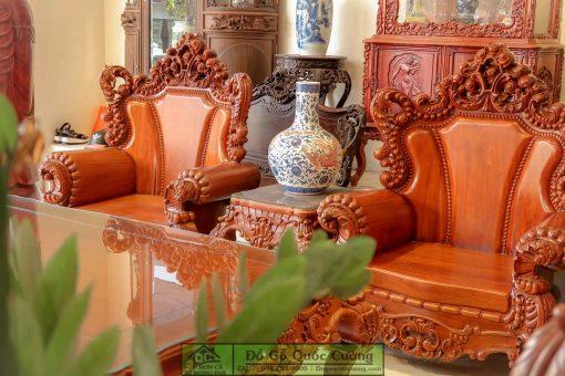 Bàn ghế hoàng gia gỗ hương vân - hàng độc quyền siêu VIP