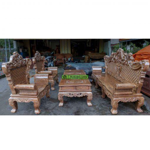 Bàn ghế hoàng gia gỗ mun giá rẻ