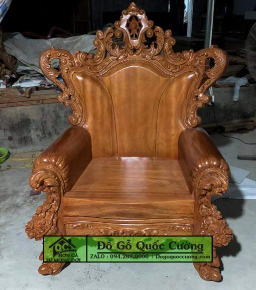 Bàn ghế hoàng gia giá rẻ gỗ hương mẫu 4