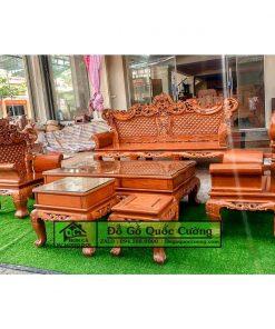 Bàn ghế hoàng gia giá rẻ gỗ hương