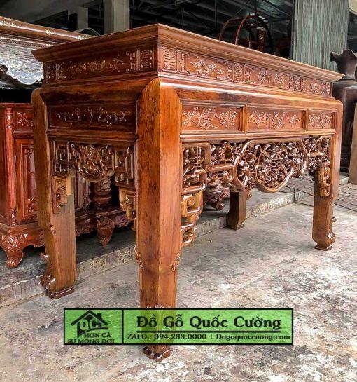 Bàn thờ mai thọ gỗ gụ - hàng đẹp
